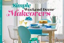Simple weekend decor makeovers