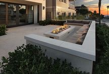 Fireplaces and Fire Pits / Add some warmth to your home with these warm fireplace and fire pit designs!