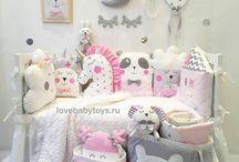baby's stuff and room