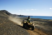 AH288 ATV and the Blue Lagoon to Keflavik Airport / Get your heart pumping on an exhilarating ATV ride through the volcanic landscape Reykjanes peninsula and afterwards relax in the milky blue waters of the Blue Lagoon.