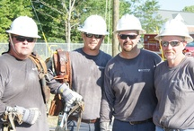 Pole Top Wranglers / Blue Grass Energy proudly sponsors a Lineman's Rodeo Team each year. The team participates in rodeo competitions designed to test the amount of time, level of performance & safety skills necessary to perform line work.