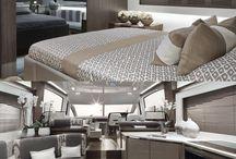 luxory yatch interior