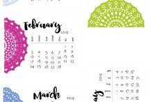 Kostenlose Kalender 2019 + 2030 + 2041 / Kostenlose Kalender 2019 + 2030 + 2041 zum Herunterladen und Ausdrucken - Free Calenders for Download and Prints -- #Kalender #kostenlos #free #freebies #Download #prints #printable #Timer #Planer #LeLiFe #LebeLieberFesch