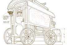Romani wagons/vardos