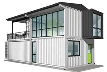 Container house ideas book