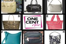 Win It Wednesday August  6 at 10 PM / Designer Handbag Choice Auction at OneCentChic 10 PM