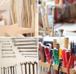 Workshops / Hier lernt man das Aufmöbeln und die farbliche Gestaltung von alten Möbeln und Schränken.