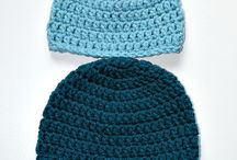 Crochet Beanie Hat Patterns / Crochet Beanie Hat Patterns for beginners - These are all simple crochet beanie hat pattern tutorials. Single crochet, half double crochet, double crochet, etc. Make a fitted or slouchy beanie hat for newborn, babies, men, women, ladies, etc. / by Strawberry Couture Etsy Unique Crochet and Knit Hats Scarves Patterns
