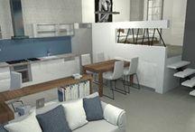 Nowoczesny Loft w Bielsku-Białej / architektura wnętrz, projekty wnętrz on-line, design, architekci wnętrz