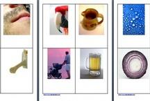 08. MONTESSORI CARDS / nomenclature Montessori / MONTESSORI CARDS - READING & WRITING