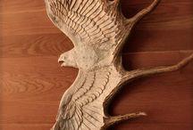 Bone/Antler carving