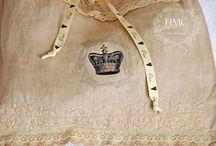 Linen Pretties / Linen and Lace pretties