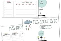 Freebies & Printables / by Mamzelle Hérisson