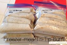 Freezer meals / Yummy meals that can be prepared ahead of time.