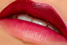 OMBRE Lipstick TREND / First the hair and now the lips too … We love that trendy OMBRE look .. Do you?