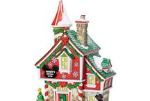 Disney dept 56 Christmas Village / I'm starting this collection... so excited!  / by Heather Bates (Strike)
