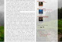 """Blogs de los participantes del curso """"Espacios de Lectura"""" / Blogs de los participantes del curso """"Espacios de Lectura"""" organizado por el CPR Región de Murcia"""