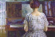 Art:Harriet Backer / Norwegian painter 1845-1932