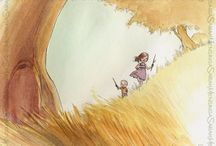 Children's Book Illustration / Inspiration to help me develop my style