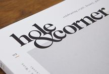 Typefaces and layout