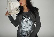 by Zuzy...Objatie / Ručne maľované tričká a a aj iné textilné vecičky vyrábam na objednávku.