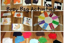 Busy bags and quiet books