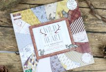 First Edition Wild at Heart / Embrace Nature in First Edition's latest paper pad, Wild at Heart. Katie Pertiet's illustrative designs of woodland creatures amidst an earthy colour palette will be sure to give your crafts an essence of the great outdoors. Alongside the intricate imagery, your collection will coordinate perfectly with the striking patterns embedded throughout.