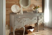 gorgeous Vintage furniture (made over)