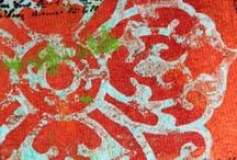mixed media inspiration                                      / art~journals~canvas / by Kreta Knox