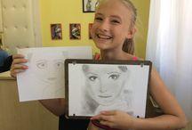 Jobb agyféltekés fejlesztő kreatív rajztáborok gyerekeknek