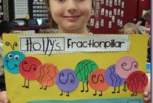 1st grade fractions / by Krista Wergin
