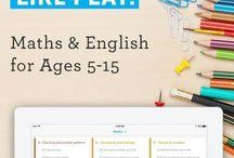 interactive maths & English