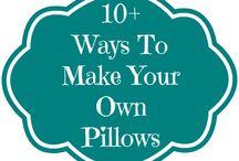 making pillows