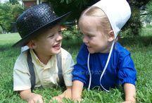 Amish, a society lost in time. / Amish , een gemmeenschap die leeft , zoals vroeger. Oorspronkelijk komt deze  geloofs overtuiging uit Zwitserland.