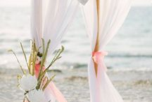 Wedding ceremony / Beach ceremony set up