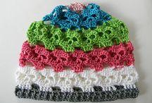 crochet hats and stuff