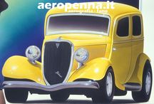 "Airbrush Work by ""aeropenna"" / illustrazioni auto e moto ad aerografo"