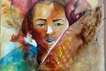 Mes tableaux / Peintures de Bivan artiste peintre
