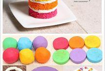 gâteaux / Si vous aimez les pâtisseries, voici quelques idées pour les refaire en pâte polymère(fimo)