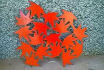 Flamin Twits - Plasma Cutting. / All hand made using a plasma cutter.