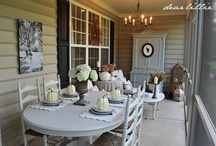 porch ideas / by Erin Luce-Van Dyke