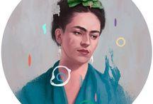 Frida / by Astrid Telander