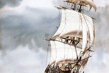 Gamle seilskuter