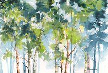 ağaclar
