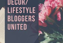 Home Decor/Lifestyle Bloggers United / Welcome to our group board!!  If you would like to join as a collaborator please email me at statelyhomelane@gmail.com and follow me on Pinterest (Stately Home Lane Blog).  Please include your blog URL in your email.  This board is for pinning your blog posts ONLY.  Please no spamming, no pinning links directly to affiliate websites, no duplicating pins, limit 3 pins per day.  Repinning eachothers content encouraged but not required.