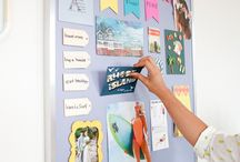 DIY with MagnaMagic / Original DIY projects from MagnaMagic, the inventors of magnetic paint! Visit our website for more great magnetic paint, chalkboard paint and tintable chalkboard paint projects for your home office, kitchen, bedroom, kids' rooms and more!
