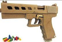 Arma de papelão