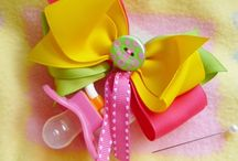 Corsages para baby shower