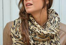 Street style pashmina / Marina Finzi young style