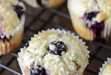 Sweet muffins / Lime &blueberry muffins